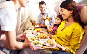 Những dịch vụ miễn phí trên chuyến bay