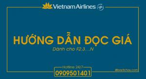 Hướng dẫn đọc chi tiết giá Vietnam Airlines