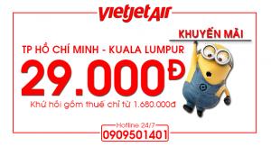 Vé máy bay khuyến mãi đi Kuala Lumpur