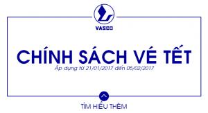 Vasco – Chính sách vé Tết