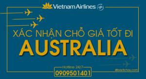 Còn vé máy bay Tết đi Sydney, Melbourne Úc trên Vietnam Airlines