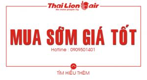Mua sớm giá tốt cùng Thai Lion Air
