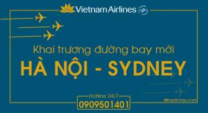 Vietnam Airlines khai trương đường bay thẳng Hà Nội – Sydney