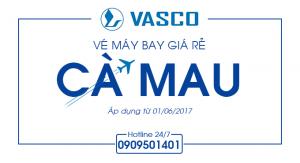 Vé máy bay giá rẻ đi Cà Mau