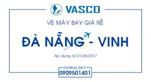 Vé máy bay giá rẻ Đà Nẵng – Vinh
