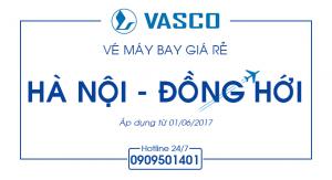 Vé máy bay giá rẻ Hà Nội – Đồng Hới