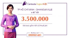 Vé máy bay giá rẻ đi Sihanoukville