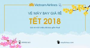 Vé máy bay Tết Nguyên Đán 2018