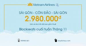 Côn Đảo – Blockseats cuối tuần Tháng 11