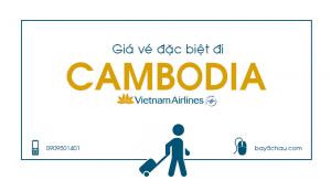 Giá vé đặc biệt đi Cambodia trên Vietnam Airlines