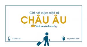 Vietnam Airlines : Giá vé đặc biệt đi Châu Âu USD574