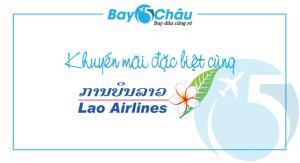 Vé máy bay giá rẻ Lao Airlines