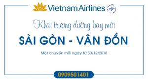 Vé máy bay giá rẻ đi Vân Đồn