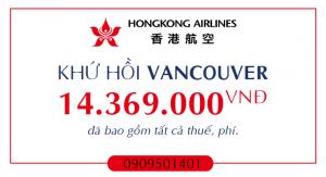 Vé máy bay giá rẻ đi Vancouver