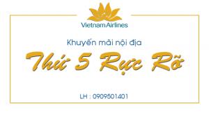 """""""Thứ 5 Rực Rỡ"""" cùng Vietnam Airlines"""
