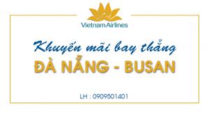 Khuyến mãi bay thẳng Đà Nẵng – Busan