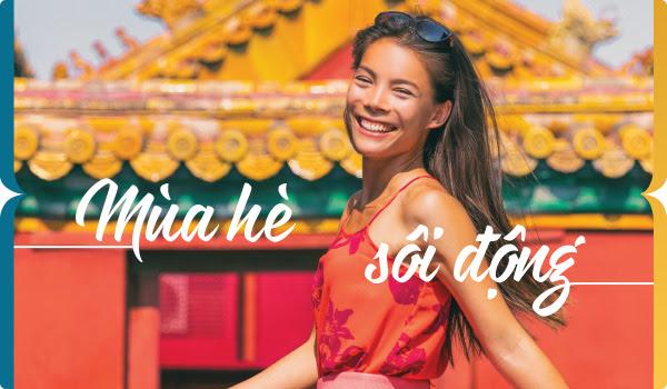 Mùa hè sôi động cùng Vietnam Airlines