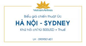 Vé máy bay giá rẻ Hà Nội – Sydney