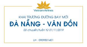 Vietnam Airlines khai trương đường bay Đà Nẵng – Vân Đồn