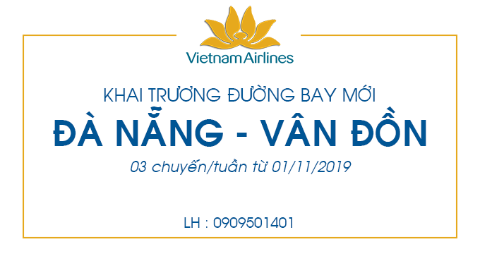 Vé máy bay giá rẻ Đà Nẵng - Vân Đồn