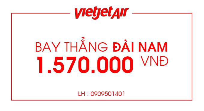 Vé máy bay giá rẻ đi Đài Nam