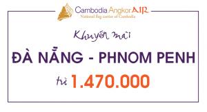 Vé máy bay giá rẻ Đà Nẵng – Phnom Penh