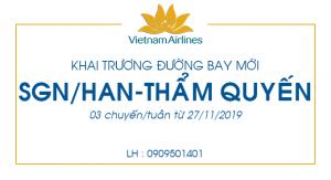 Vietnam Airlines bay thẳng đi Thẩm Quyến