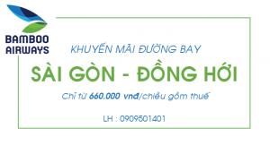 Vé máy bay giá rẻ đi Đồng Hới – Bamboo Airways