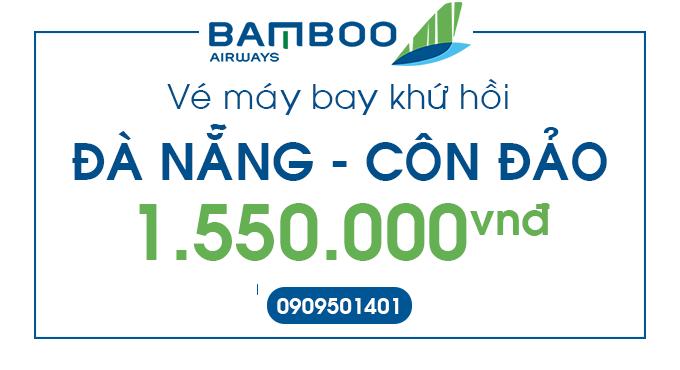 Ve may bay gia re Da Nang - Con Dao