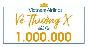 Vé thưởng X Vietnam Airlines chỉ từ 1 triệu đồng.